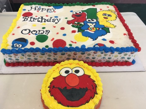 Sesame Street 1st Birthday and Smash Cake