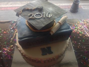 UNR Social Work Graduate Cake