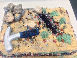 UNR Geology Graduate Cake