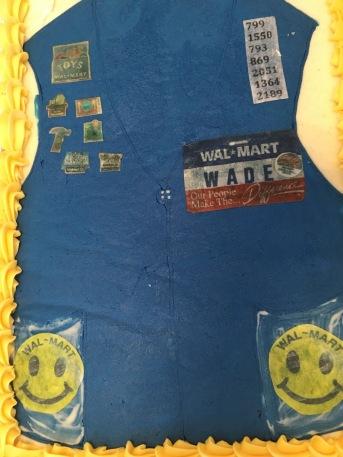 Walmart Retirement Cake