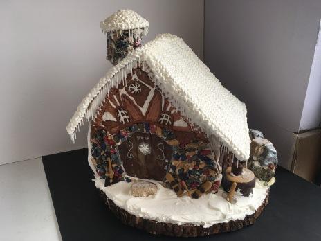 Woodland Ginger Bread Cottage