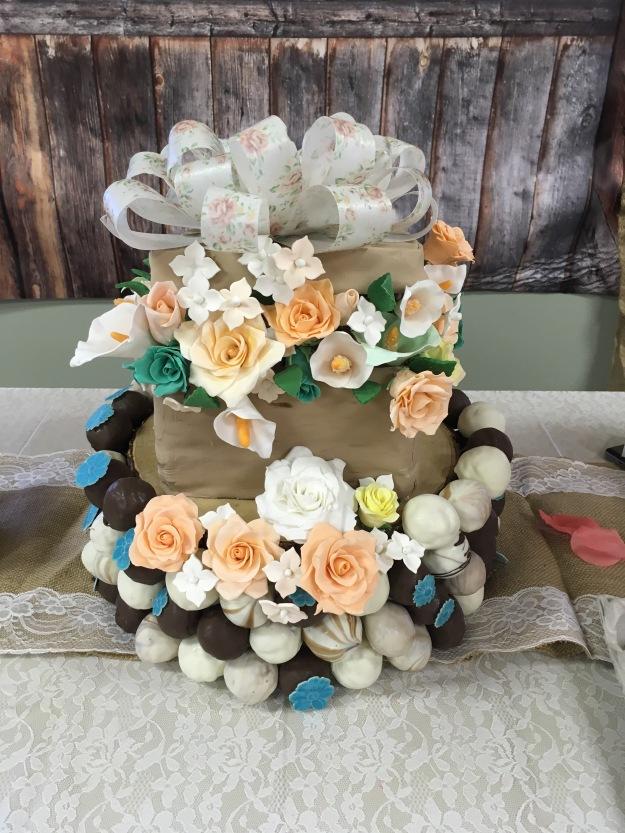 Flower Box Cake