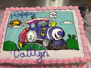 Train Birthday Cake, allergy friendly