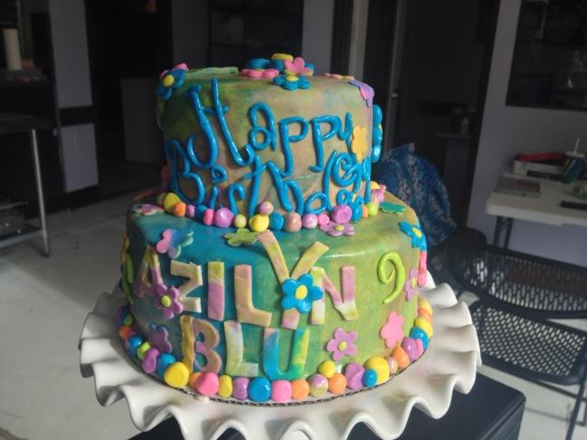 """""""Hippie"""" Cake"""