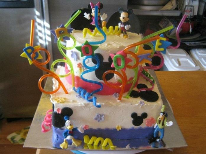 Brooke's Minnie Mouse Cake
