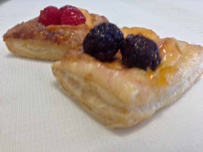 Mini Fruit Pastries $20 dozen (minimum 2 dozen order)