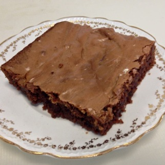 Fudge Brownies...$36 per 1/2 sheet (approx 15 brownies)